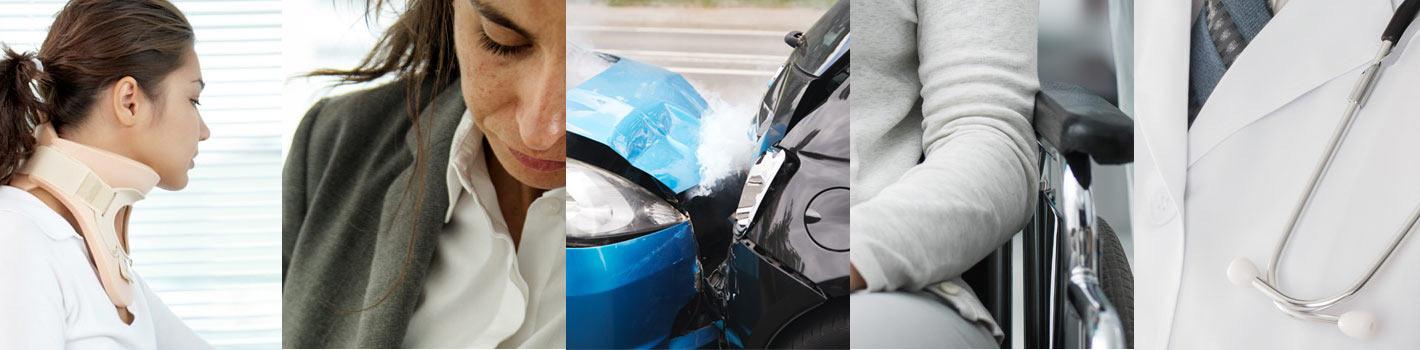 Accidente de tráfico, laboral, despido, incapacitados e invalidez, negligencia médica